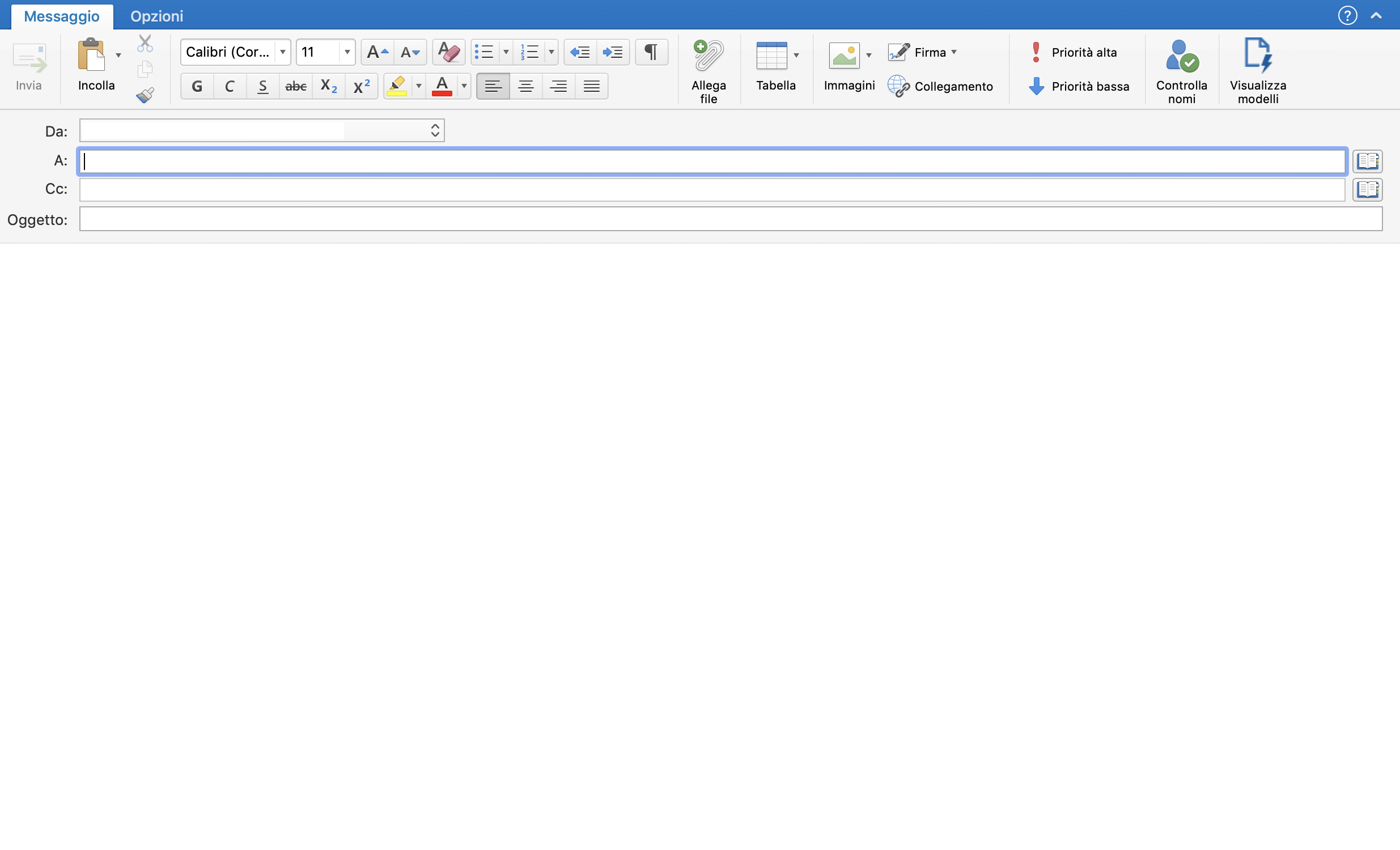 outlook-scrivere-e-iniviare-email